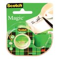 PLAKBAND 3M SCOTCH INVI 810 19MMX7.5M MET AFROLLER
